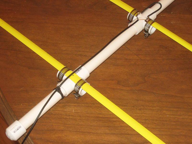 Tape Measure Yagi Antenna Construction